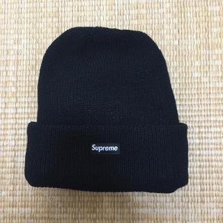 シュプリーム(Supreme)の2018AW  Supreme GORE-TEX beanie 黒(ニット帽/ビーニー)