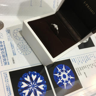 I-PRIMO・最高級ダイヤリング(リング(指輪))