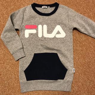 フィラ(FILA)のFILA 裏起毛トレーナー 130➁(Tシャツ/カットソー)