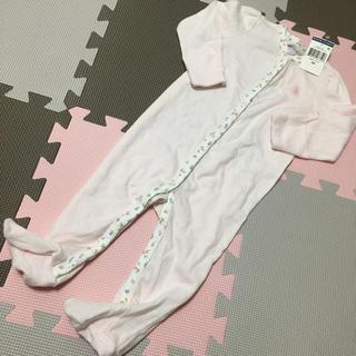 ラルフローレン(Ralph Lauren)の【新品・未使用】ラルフローレン ロンパース ピンク 9m(ロンパース)