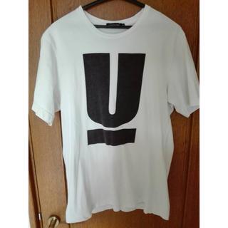 UNDERCOVER - UNDERCOVER Tシャツ Uロゴ 白