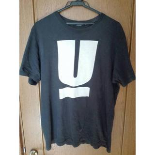UNDERCOVER - UNDERCOVER Tシャツ Uロゴ 黒