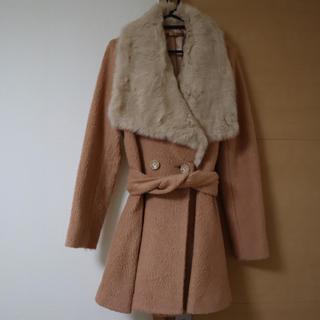 リュクスローズ(Luxe Rose)の可愛い ファーコート Luxe Rose(毛皮/ファーコート)