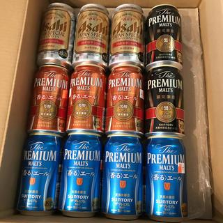 サントリー(サントリー)の缶ビール 12本 サントリー プレミアムモルツ  アサヒ スーパードライ(ビール)