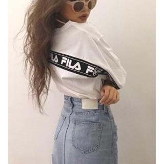 GYDA - FILAグラフィックラインBIG Tシャツ♡