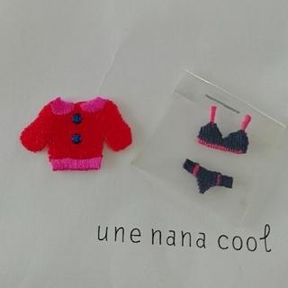 ウンナナクール(une nana cool)のune nana cool ワッペン(各種パーツ)