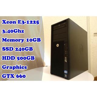 ヒューレットパッカード(HP)の★すんごい性能 ハイスペックゲーミングPC★ 新品SSD240GB GTX660(デスクトップ型PC)