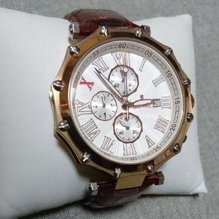 サルバトーレマーラ(Salvatore Marra)の電池交換済み サルバトーレマーラ 10周年限定 センタークロノグラフ腕時計(腕時計(アナログ))