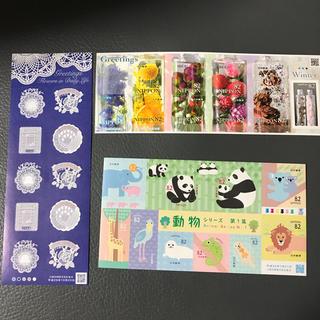 82円切手 3シート(切手/官製はがき)