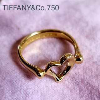 TIFFANY&Co. ティファニー  オープンハート(リング(指輪))