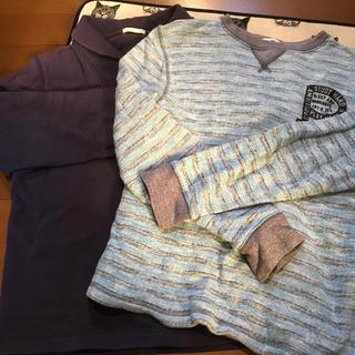 ジーユー(GU)のGU kidsトレーナー150どちらか一枚(Tシャツ/カットソー)