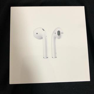 アップル(Apple)のAirpods Apple 新品未開封(ヘッドフォン/イヤフォン)