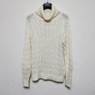 ロンハーマン(Ron Herman)の[美品] ロンハーマン タートル ニット セーター 白 xs メンズ(ニット/セーター)