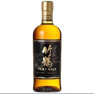ニッカウイスキー(ニッカウヰスキー)の竹鶴ピュアモルト 700ml(ウイスキー)