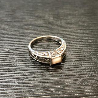 マライカ(MALAIKA)の925 天然石シルバーリング ③(リング(指輪))