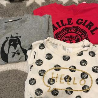 エイチアンドエム(H&M)の3枚セット 90センチ(Tシャツ/カットソー)
