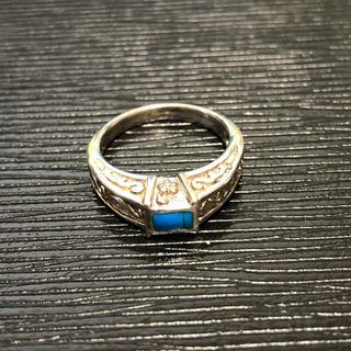 マライカ(MALAIKA)の925 ターコイズシルバーリング④(リング(指輪))