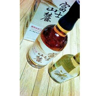 キリン(キリン)の富士山麓 箱つき 700×1 ライスウイスキー 350×1 国産 終売 希少(ウイスキー)