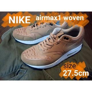 ナイキ(NIKE)のNIKE airmax1 woven(スニーカー)