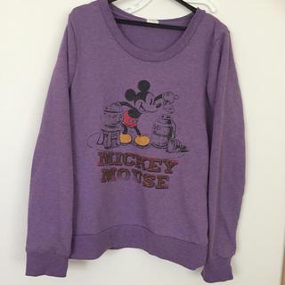 ディズニー(Disney)のミッキー スウェット (トレーナー/スウェット)