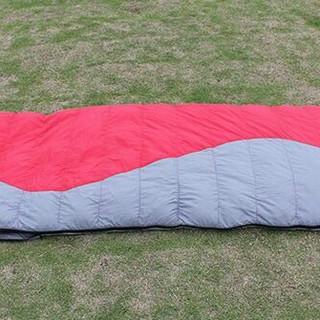 冬用 封筒型シュラフ ダウン 寝袋 シュラーフザック(寝袋/寝具)