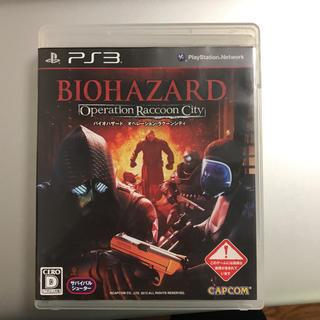 PlayStation3 - バイオハザード オペレーション・ラクーンシティ