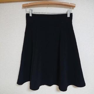 ジーユー(GU)のGU バックジップフレアスカート(ひざ丈スカート)