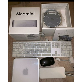 マック(Mac (Apple))のMac mini(Early2009)MB463J/A A1283 A11243(デスクトップ型PC)