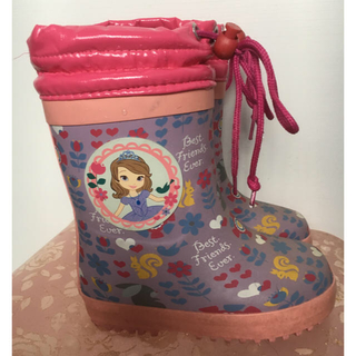 ディズニー(Disney)のプリンセス ソフィア レインブーツ 長靴(長靴/レインシューズ)