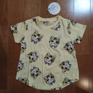 シマムラ(しまむら)のバースデイ 猫柄Tシャツ 110(Tシャツ/カットソー)
