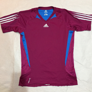 アディダス(adidas)のadidas アディダス クライマクール Vネック Tシャツ Lサイズ メンズ(ウェア)