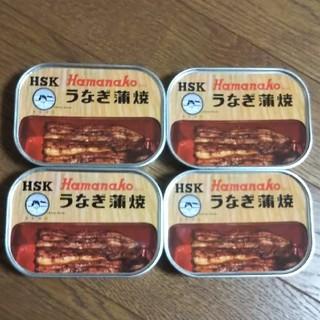 やまちゃんさま専用浜名湖うなが蒲焼き缶詰め×4缶(缶詰/瓶詰)