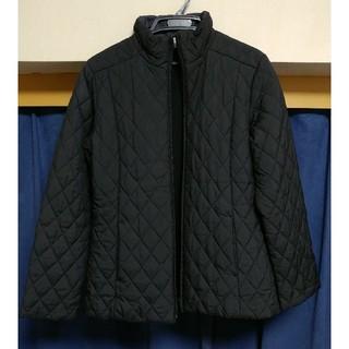 ナイキ(NIKE)のナイキ キルティングジャケット Lサイズ レディース 黒(ブルゾン)