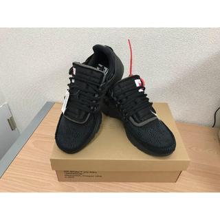 ナイキ(NIKE)の THE TEN AIR PREST 27.0 ブラック 黒 国内正規品(スニーカー)