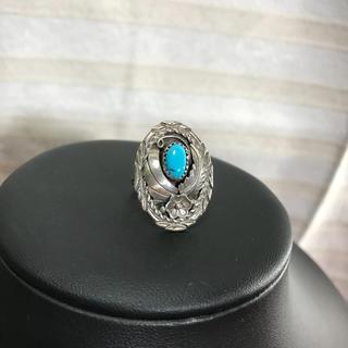 インディアンジュエリー 彫刻 シルバー リング (リング(指輪))