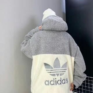 アディダス(adidas)の新品 タグ付き アディダス オリジナルス ボアフリースジャケット(パーカー)