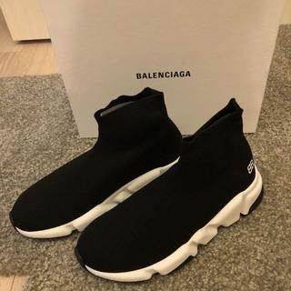 Balenciaga - 本日限定!スピードトレーナー ノアール 完売サイズ35-36 ブラック キッズ