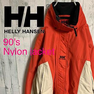 ヘリーハンセン(HELLY HANSEN)の90's  HELLY HANSEN ヘリーハンセン ナイロン ジャケット L(ナイロンジャケット)