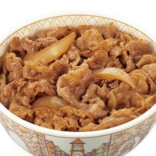 すき家 牛丼 並盛 1杯分【送料無料 5%クーポン】(フード/ドリンク券)