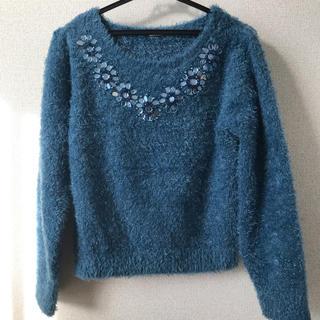 GU - GU シャギー ニット セーター