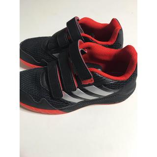 アディダス(adidas)の美品アディダスadidas三本ラインスニーカー20センチ(スニーカー)