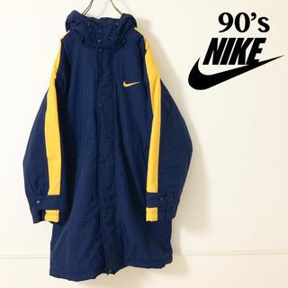 ナイキ(NIKE)の【美品】90's 銀タグ NIKE ビッグシルエット 中綿 ジャケット(ナイロンジャケット)
