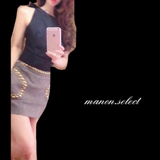 レッドヴァレンティノ(RED VALENTINO)のREDVALENTINOツイードスカート♡(ミニスカート)