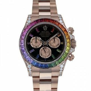 ロレックス(ROLEX)のロレックス デイトナ レインボー 116595RBOW  メンズ 腕時計  (腕時計(アナログ))