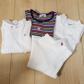 ファミリア(familiar)のファミリア120㎝長袖トップス4点セット(Tシャツ/カットソー)
