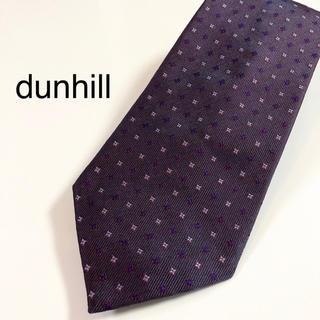 ダンヒル(Dunhill)の★美品・ほぼ未使用★ dunhill イギリス製  ダンヒル(ネクタイ)