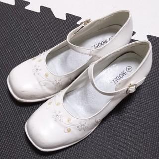 【24cm?】白パンプス(フォーマルシューズ)