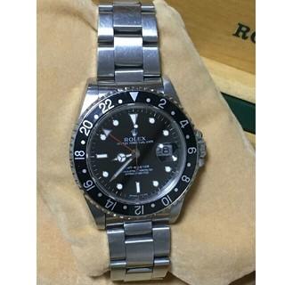 中古 ROLEX ロレックス GMTマスター黒ベゼル 16700(腕時計(アナログ))