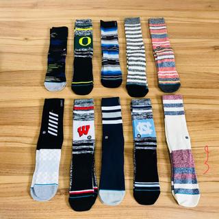 ナイキ(NIKE)の10足組セット stance socks 3(ソックス)