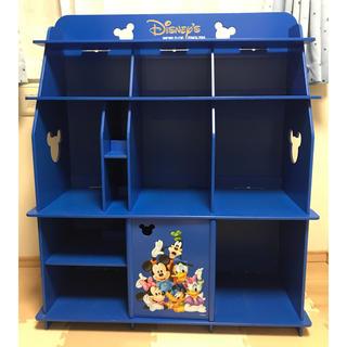 Disney - DWE ディズニー英語システム 棚 青色